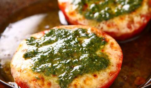トマトのオーブン焼き