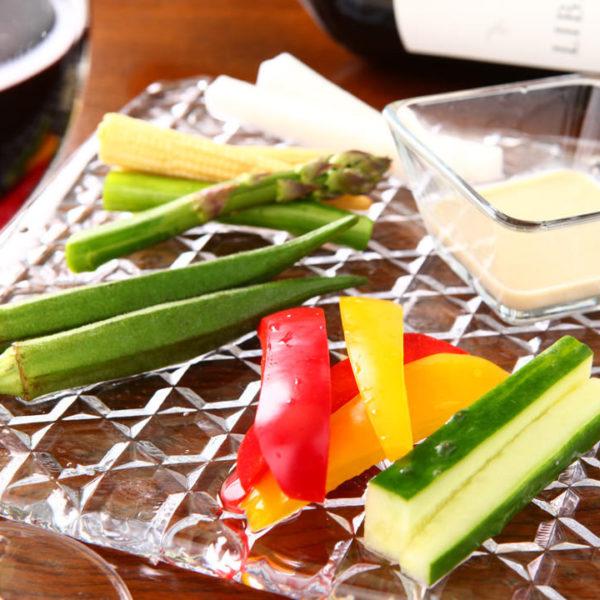 いろいろ野菜のバーニャカウダ